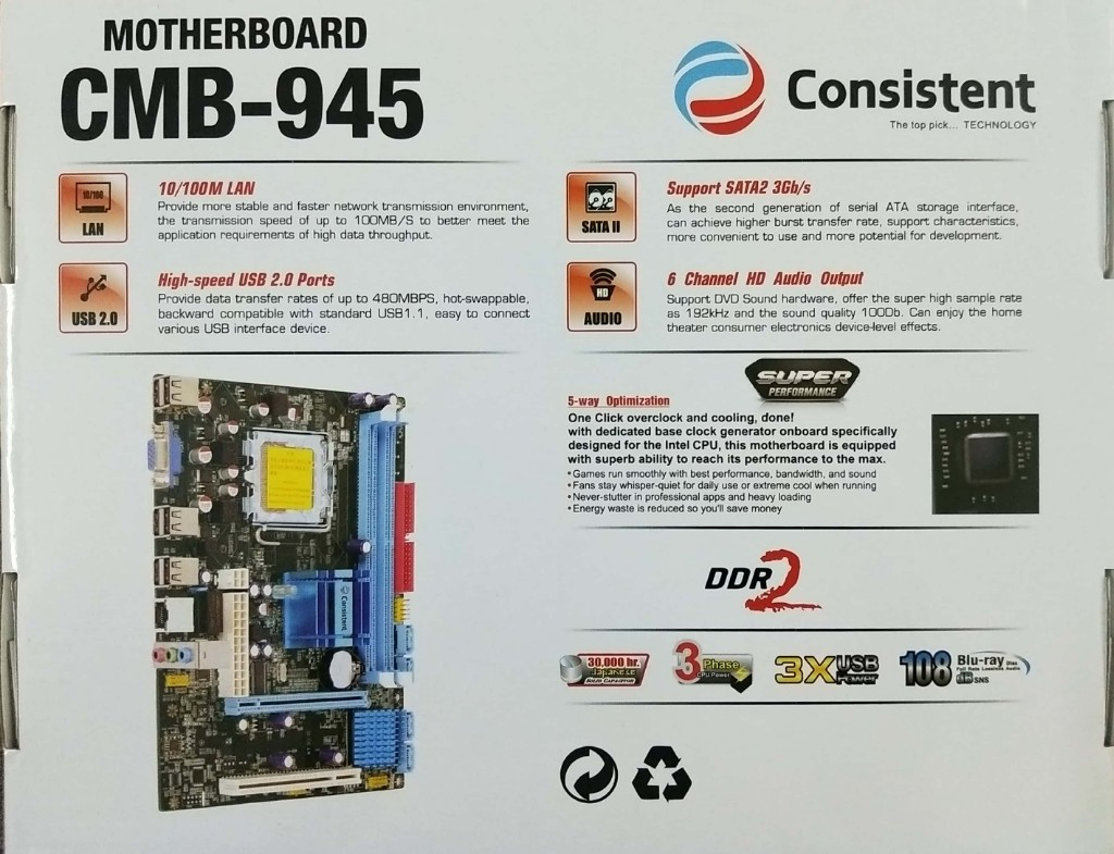 CONSISTENT 945 MOTHERBOARD SOUND DRIVER FOR WINDOWS 8